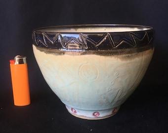 Bright Light Small Medium Serving Bowl