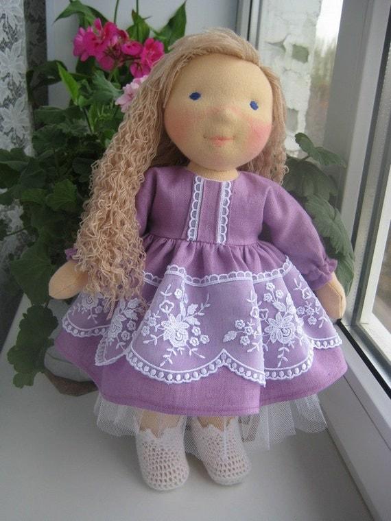 Waldorf doll 17 waldorf fabric doll steiner by ninawaldorfdoll - Material waldorf ...