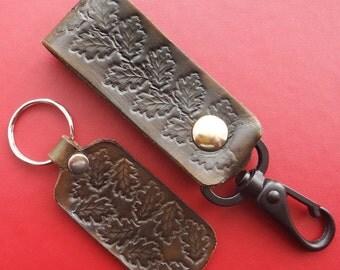Matching Key Ring and Belt Secrity Lanyard.