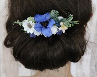 Hair comb - Blau