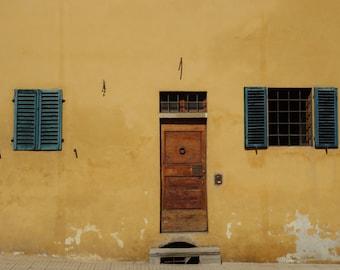 Rustic Door Photography Print -  print - Travel photography print - doors and windows