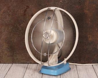 Vintage Fan - Desk Fan - Wall Fan - Vintage Electric Fan - Desktop Ventilator - Mid Century Modern Fan - Fan Tip VM 3 - Two Degrees Fan