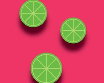 Limes Print