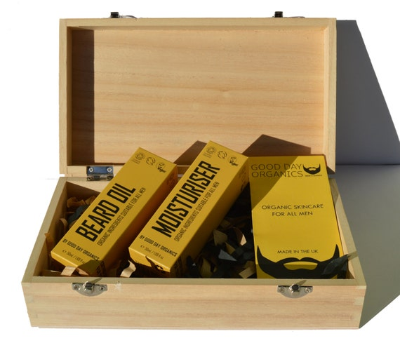 men 39 s organic beard oil grooming gift set in by gooddayorganics. Black Bedroom Furniture Sets. Home Design Ideas