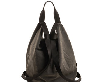 ON SALE 20% Sport bag, Vegan bag, Fabric backpack, Travel bag, Backpack bag, Rucksack backpack, Backpack Canvas rucksack - PETEL