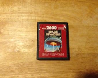 Atari 2600 7800 Space Invaders Rare Red Label Cartridge.