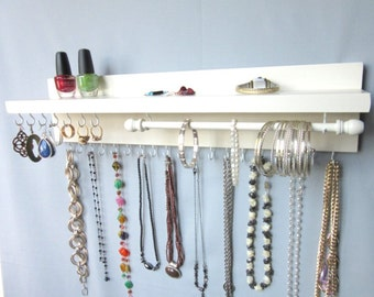 Jewelry Holder Wall Jewelry Hanger Jewelry Display Jewelry Rack Jewelry Holder  Wall Jewelry Organizer Jewelry Holder  Wall Jewelry Holder