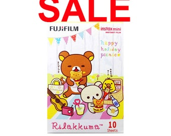 Last Stock Fujifilm Instax Mini Film Rilakkuma Happy Holiday Picnic Polaroid Instant Photo