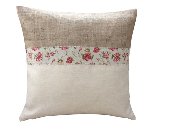 French Country Style Cushion Cover Made From Laura Ashley