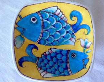 Small Italian Fish Dish/Wall Hanging