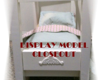 Canopy Bed for American Girl doll or other 18 inch dolls