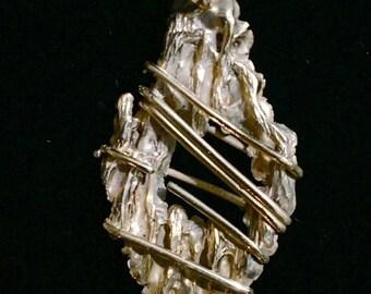 Ancient Bronze Tree Pendant