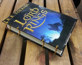 Lord of the Rings notebook by JRR Tolkien dust jacket book cover fellowship two towers return of the king hobbit Frodo baggins gandalf