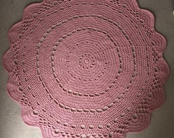 Crochet Rug - Any Colour