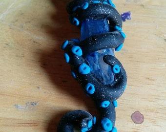 Love Craft-ian Steampunk Octopus Cthulu Kraken Necklace pendant