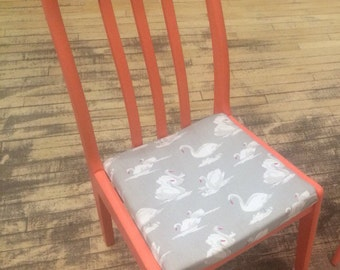 Bespoke Chair Hand Painted