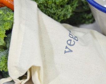 Produce Bag, Reusable Produce Bag,  Market Bag, Shopping Bag, eco-friendly storage, earth friendly bag, lettuce bag, Set of 3