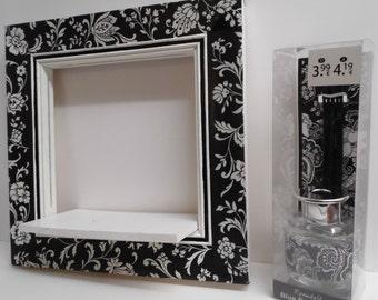 Shabby chick/vintage wall box, wall shelf