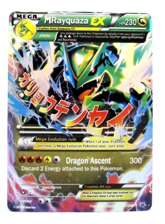 Rayquaza Ex Pokemon Cards Images | Pokemon Images