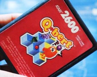 Atari 2600 Cart Soap Parody: Retro and geeky! Handmade cartridge soap - Atari 2600 - QBert, retro gamer, novelty, geek