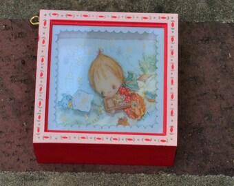 Hallmark Ornament 1980 Joy to the World No Box
