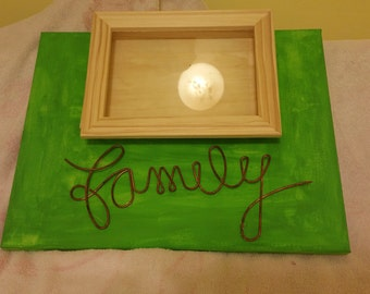 Family wall frame,