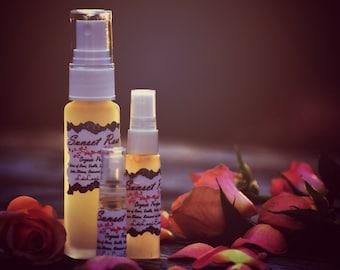 Sunset Rose - Organic Botanical Perfume - Aromatherapy