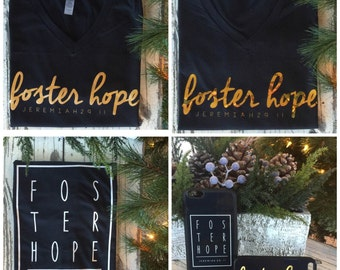 Foster Hope T-shirts and iPhone cases