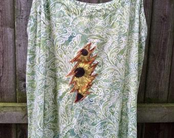 Grateful Sunflower Dress