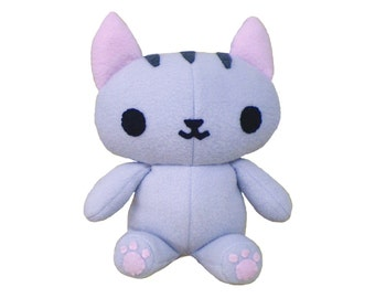 Kitty Cat Stuffed Animal PDF Sewing - Plush Pattern
