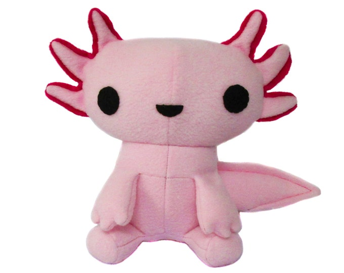 Axolotl Plush Toy Pattern
