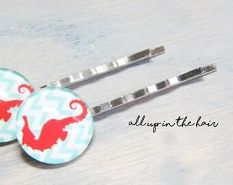 Seahorse Bobby Pins - Ocean Bobby Pins