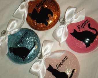 Dog or Cat Christmas Ornaments - Personalized - Free Shipping!