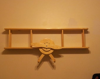 Beautiful Bi-plane shelf