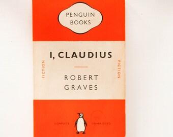 Vintage Penguin Book, I, Claudius