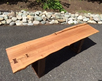 SOLD - Live Edge Queensland Maple Coffee Table - 15% Off Summer Sale