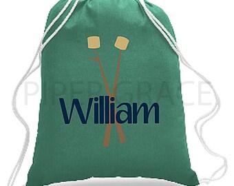 Camp Bag, Camp Accessories, Camping Gift, Camping Bag, Camping Backpack, Drawstring Backpack, Children's Backpacks, Drawstring Bag