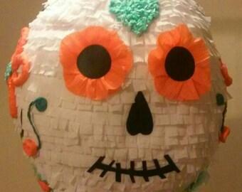 Halloween or Día de los  muertos pinata