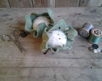 Cauliflower pincushion
