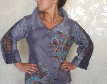 wool felted jacket