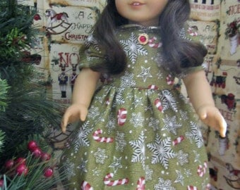 Christmas Party Dress for 18 inch dolls