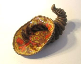 Atlantic Mold Ceramic Cornucopia