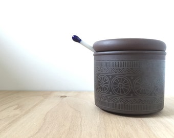 Hornsea Palatine Jam Pot / Sugar Bowl
