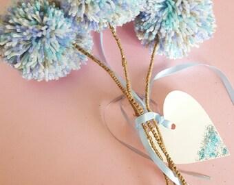 dandelions make a wish Forever wishes shabby chic coastal beach decor beach wedding buttonholes