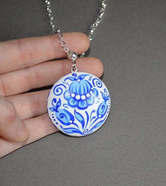 wedding gift ideas bridesmaids gift boho jewelry handmade Pendant ...