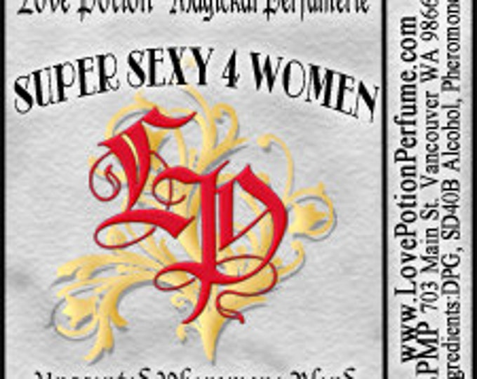 PHEROTINE! Super Sexy for Women ~ Pheromone Blend - Limited Ed UNscented Pheromone Trials by Love Potion Magickal Perfumerie