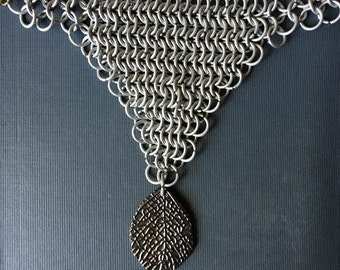 Handcrafted Chainmaille Warrior Necklace