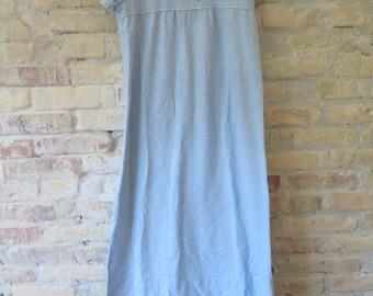 Vintage 70s Chambray denim dress