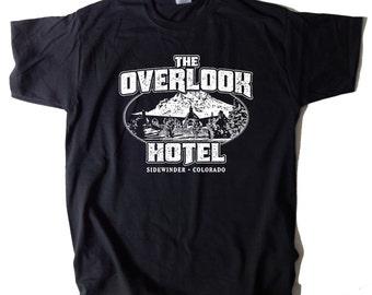 The Overlook Hotel T-SHIRT The Shining Stephen King Jack Torrance Jack Nicholson Horror