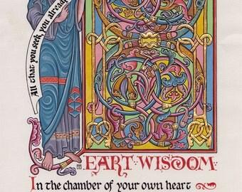 Heart Wisdom Illumination by Tania Crossingham